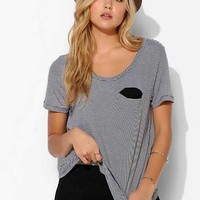 Mouchette Slit-Pocket Tee-