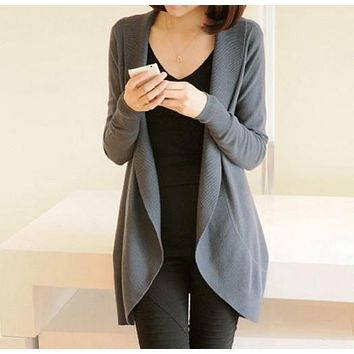 Women's Cardigans Thin Wool