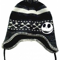 Nightmare Before Christmas Beanie - Jack Crossed Bones