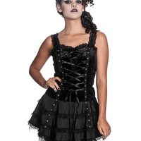 Hell Bunny Black Harper Dress - Hell Bunny Dress - Lolita Dress