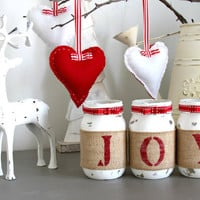Rustic Christmas Table And Fireplace Decorations in