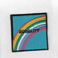 SWEET LORD O'MIGHTY! EQUALITY IRON ON PATCH