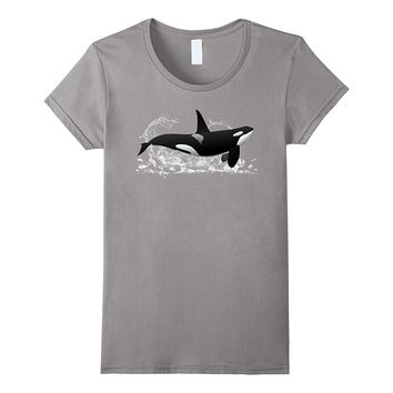 Killer Whale Orca Sea Panda Save The Whale Ocean T-Shirt.