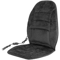 Wagan Tech 12-volt Deluxe Velour Heated Seat Cushion