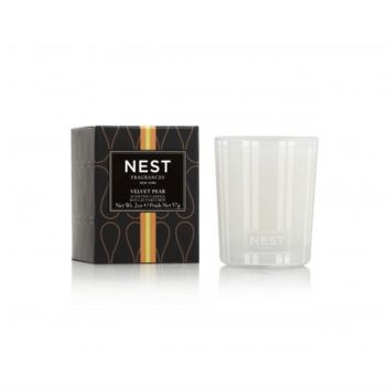 Velvet Pear Votive Candle by Nest