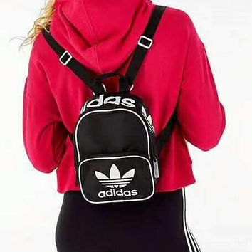 DCCK2 221 Adidas Shoulder Bag Mini Backpack Leisure Women's Bag Black