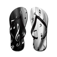 Music Note Flip Flops on CafePress.com