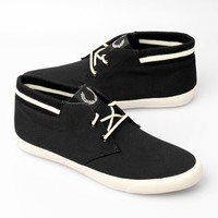 Fred Perry X Stussy Deluxe Men's Byron Cuff Shoe Boot - Black