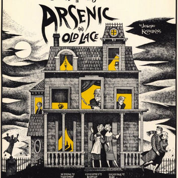 Arsenic and Old Lace 11x17 Broadway Show Poster (1986)
