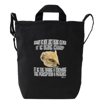Smart Quote by Kat Worth Duck Bag