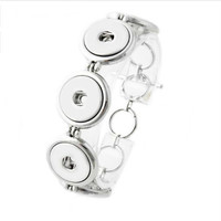 5 Snap-Snap Bracelet For 18-20mm Snap Charm Jewelry