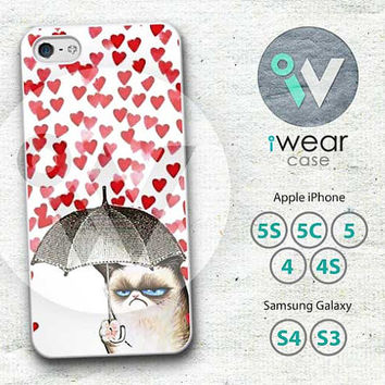 Cat iPhone 5 Case,cats heart Love iPhone Hard Case Rubber and Case,Cut art Cat cover skin case for iphone 5 case,More styles for you
