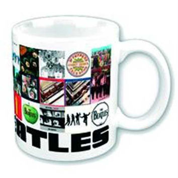 6 Beatles Mugs - 12oz