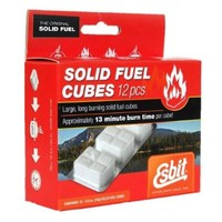 Esbit 1300-Degree Smokeless Solid Fuel Tablets for Backpacking, Camping, Emergency Prep, and Hobby, 14-gram, 12-pieces