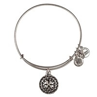 Alex and Ani Lucky Golf Ball Charm Bangle - Russian Silver