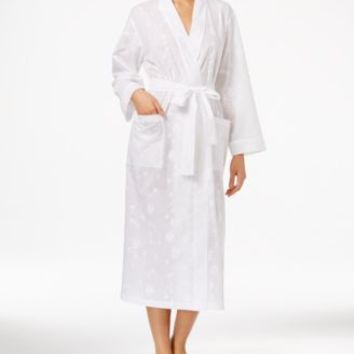 Charter Club Short Spa Waffle Robe, Created for Macy's | macys.com