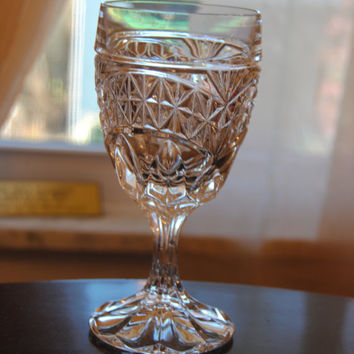 Vintage Wine Glass/Lead Crystal