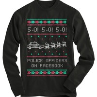 Police Ugly Christmas Sweater