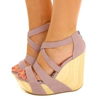 Above The World Wedges-Orchid