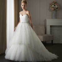 Bonny Classic 413 Convertible Tulle Wedding Dress