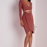 Ally Two Piece Bodycon Dress
