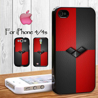 Harley Quinn Diamond Design for iphone 4/4s case iphone 5/5s/5c case and samsung galaxy s3/s4.