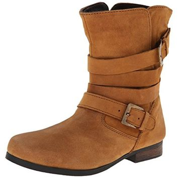Steve Madden Girls Jbrewzer Leather Ankle Booties