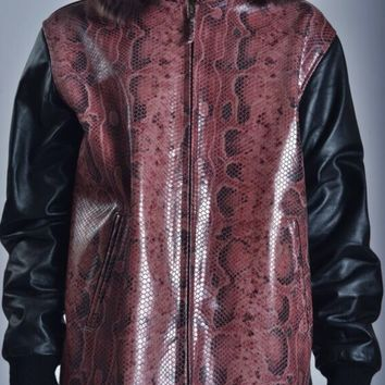STEALTH  JACKET  Marrom  PYTHON MENS