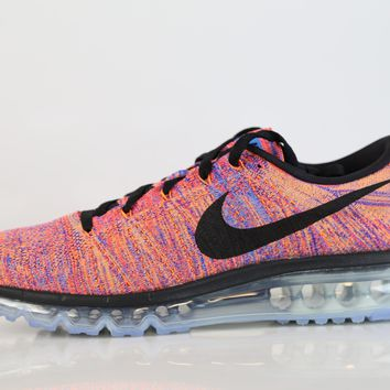 BC QIYIF Nike Flyknit Max Multi Color Photo Blue Rainbow 620469-404