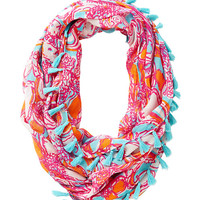 Riley Tassel Infinity Loop Scarf - Feeling Tanked - Lilly Pulitzer
