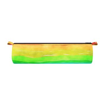 Rainbow Watercolor Pencil Case