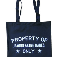 Jawbreaking Babes Tote Bag