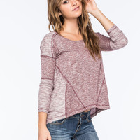 OTHERS FOLLOW Margo Knit Womens Tee | Raglans & L/S Tees