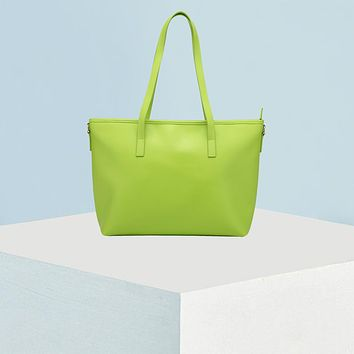 Tote | Lime Green