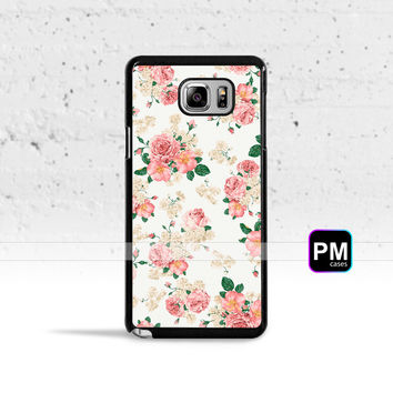 Pink Carnations Floral Case Cover for Samsung Galaxy S3 S4 S5 S6 S7 Edge Plus Active Mini Note 3 4 5 7