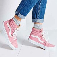 """VANS"" Fashion Women Men Casual High Help Sport Shoes Sneakers Pink"