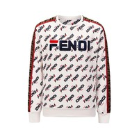 Fendi 2019 autumn and winter new men and women sweater trend couple models print