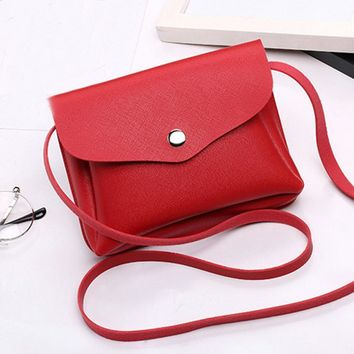 Luxury Ladies' Crossbody Shoulder Messenger Bag Phone Coin Purse Cute Lovely Design Women Soft PU Leather Handbag  725 p50