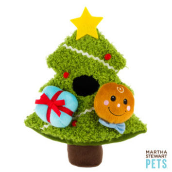 Martha Stewart Pets® Tree w/ Gingerman & Present Intelligence Toy - Martha Stewart Pets - Dog - PetSmart