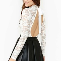 True Romance Lace Top