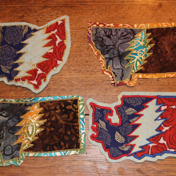 Steal Your State Grateful Dead Patches