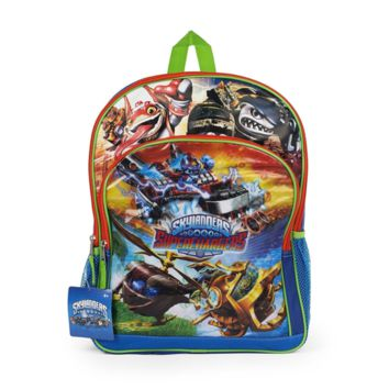 "Skylanders ""Super Chargers"" Backpack with Card Slots (MULTI-COLORED)"