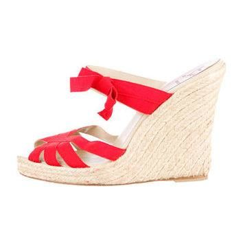 Christian Louboutin Wedge Sandals