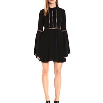 For Love & Lemons Women's Willow Bell Sleeve Dress