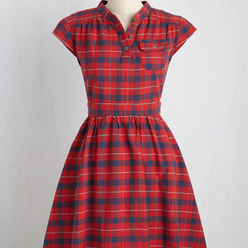 Your Plucky Day A-Line Dress | Mod Retro Vintage Dresses | ModCloth.com
