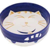 Delighted Cat Soup Bowl