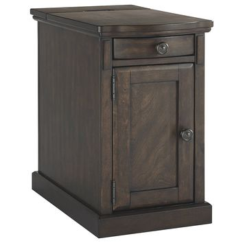 Laflorn Chair Side End Tables - Warm Brown, Gray, Sable, Dark Brown, Medium Brown, Brown/Gray or Brown