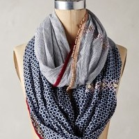 Novato Infinity Scarf by Anthropologie Navy One Size Scarves