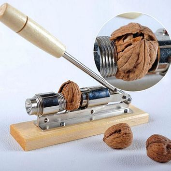 VONC1Y High quality mechanical sheller walnut nutcracker nut cracker fast Opener Kitchen Tools fruits and vegetables