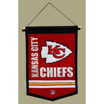 Kansas City Chiefs NFL Traditions Banner (12x18)